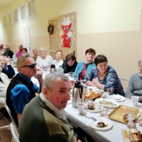 GOPS Stanin - Spotkanie Wigilijne Seniorów  2019